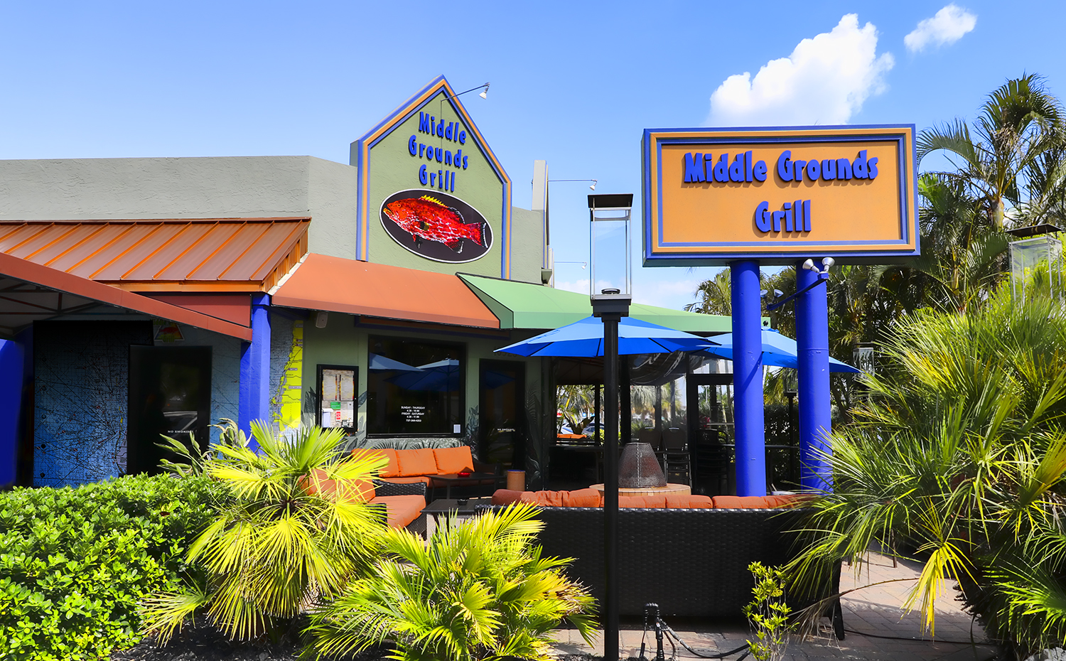 Middle Grounds Grill Treasure Island Florida